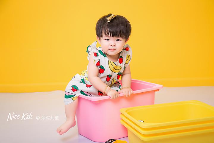萌萌小语兮 - 周岁客照-Jeray.Wang