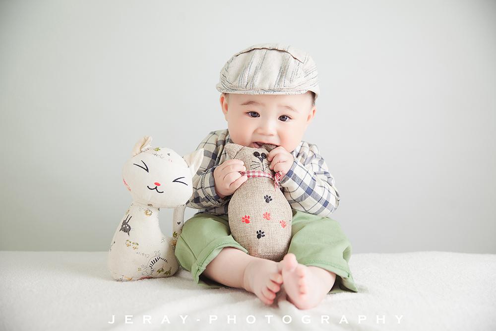 六个月的小茗同学(2016.04.23)-Jeray.Wang