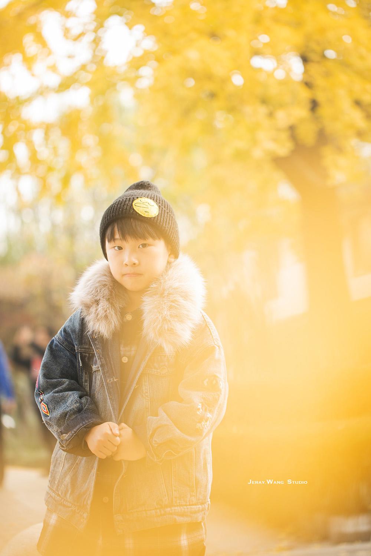 2018银杏季 客照の三位小朋友-Jeray.Wang