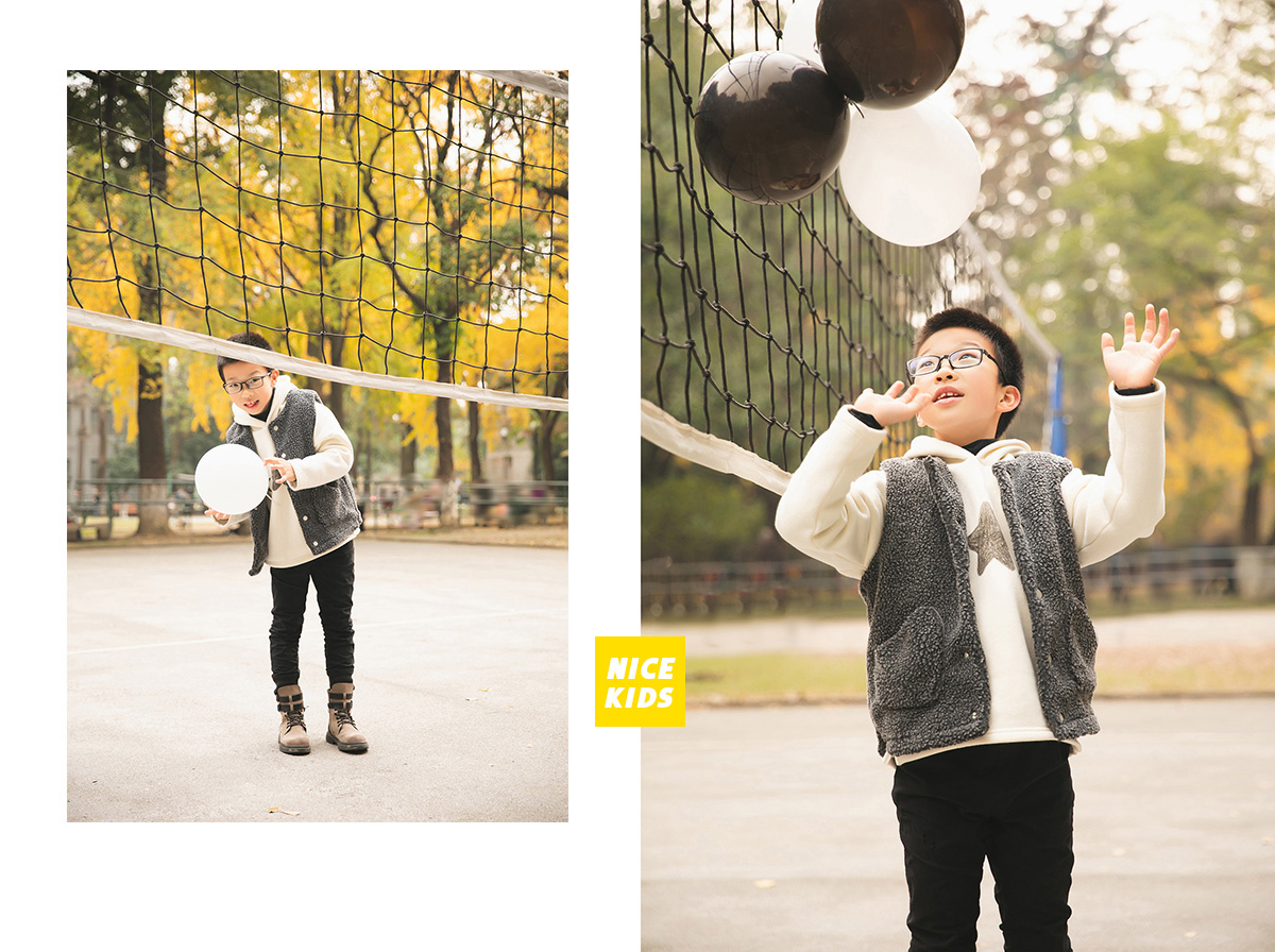 子乐小朋友 - 外景拍摄苏州大学