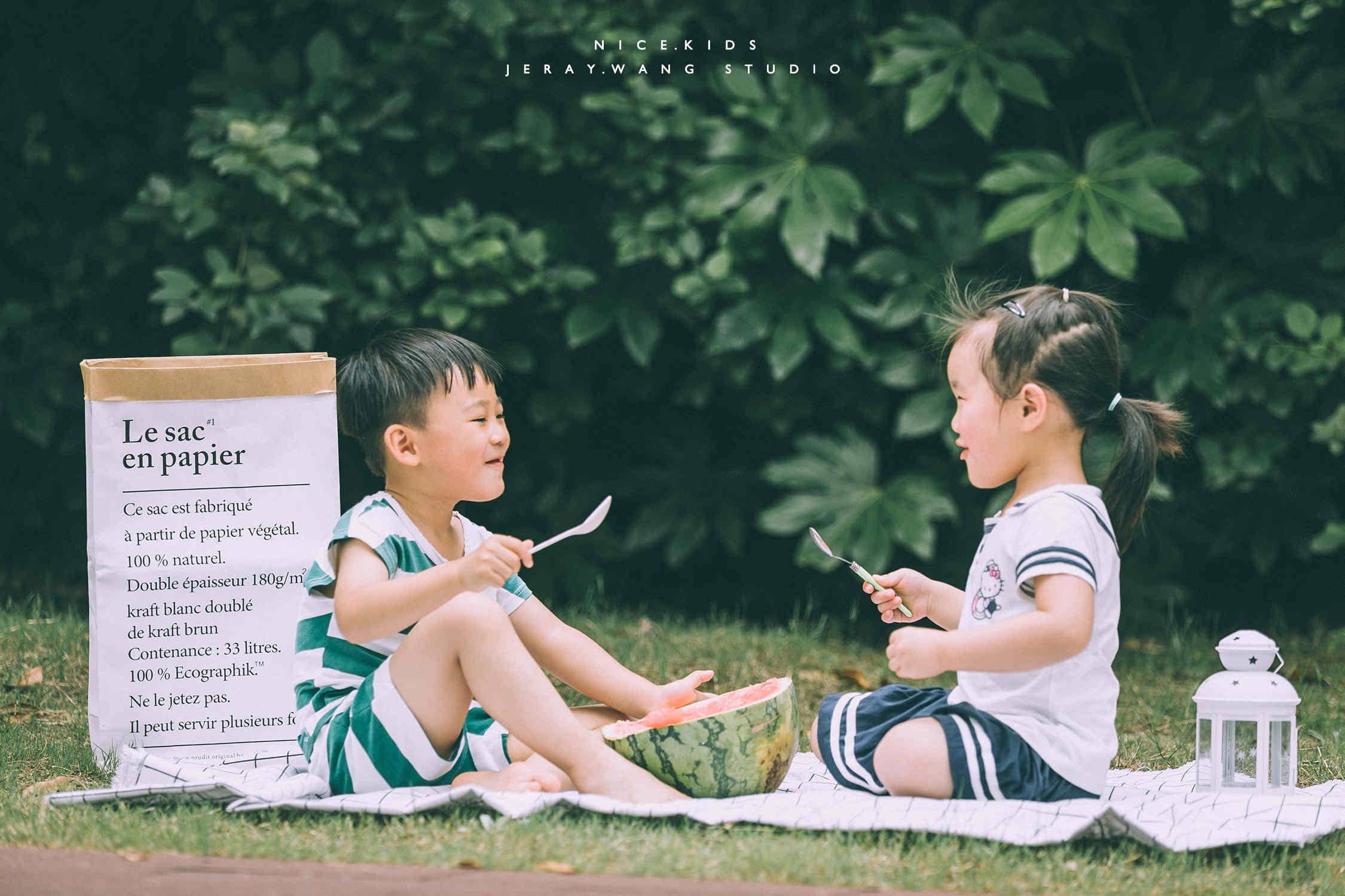 夏季啃西瓜主题-Jeray.Wang